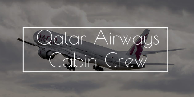 Qatar Airways Open Days September 2017 - Cabin Crew